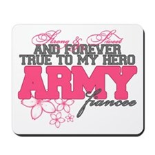 Strong&Sweet Army Fiancee Mousepad
