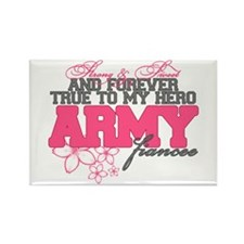 Strong&Sweet Army Fiancee Rectangle Magnet