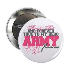 "Strong&Sweet Army Fiancee 2.25"" Button"