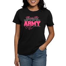 Strong&Sweet Army Fiancee Tee