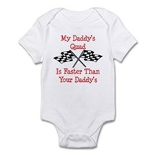 Daddys Quad Is Fast Onesie