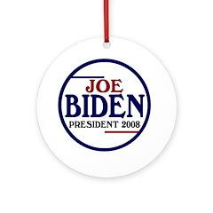 Joe Biden 2008 Christmas Ornament
