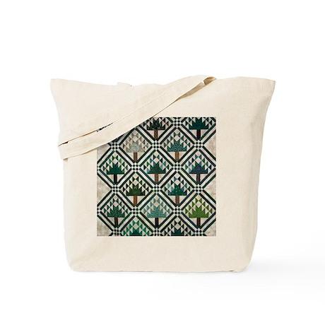 Tree Quilt - Quilt Craft Tote Bag