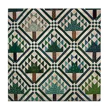 Tree Quilt - Quilt Craft Tile Coaster