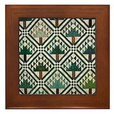 Tree Quilt - Quilt Craft Framed Tile