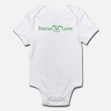 Rescue Love Puppy Infant Bodysuit