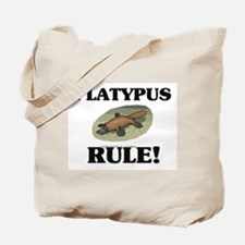 Platypus Rule! Tote Bag