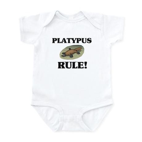 Platypus Rule! Infant Bodysuit