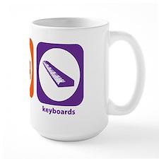 Eat Sleep Keyboards Mug