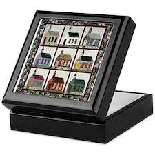 Church Quilt - Quilt Craft Keepsake Box