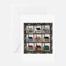 Church Quilt - Quilt Craft Greeting Card