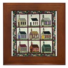 Church Quilt - Quilt Craft Framed Tile