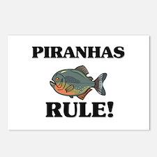 Piranhas Rule! Postcards (Package of 8)