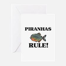Piranhas Rule! Greeting Cards (Pk of 10)