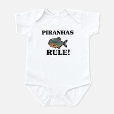 Piranhas Rule! Infant Bodysuit