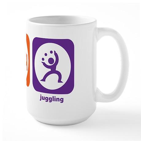 Eat Sleep Juggling Large Mug
