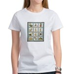 Bunny Rabbit Quilt Women's T-Shirt