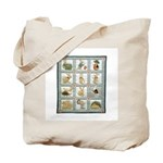 Bunny Rabbit Quilt Tote Bag