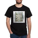 Bunny Rabbit Quilt Dark T-Shirt