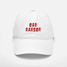 Oak Harbor Faded (Red) Baseball Baseball Cap