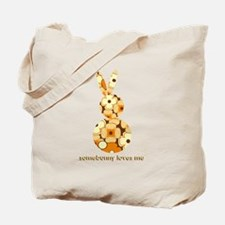 somebunny loves me #2 Tote Bag