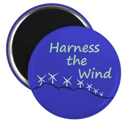 Harness the Wind (Wind Farm Magnet)