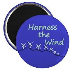 Harness the Wind (Wind Farm Magnet)