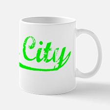 Vintage Yuba City (Green) Mug