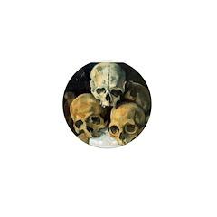 Skulls Mini Button