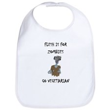 flesh is for ZOMBIES (PETA) Bib