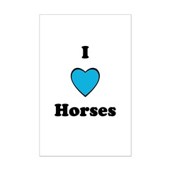 I LOVE HORSES Posters