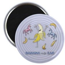 Banana --> Ear Magnet