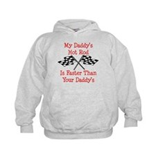 Daddys Hot Rod Is Fast Hoodie