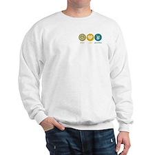 Peace Love Groceries Sweatshirt