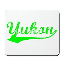Vintage Yukon (Green) Mousepad