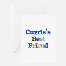 Curtis's Best Friend Greeting Card