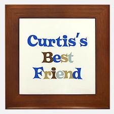 Curtis's Best Friend Framed Tile