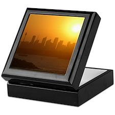 Sydney City Skyline Sunset Keepsake Box