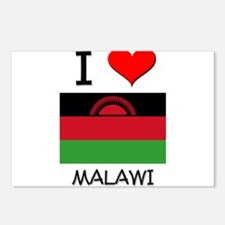 I Love Malawi Postcards (Package of 8)