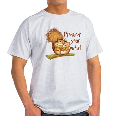 Protect Your Nuts Light T-Shirt