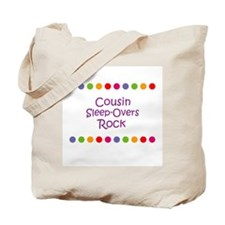 Cousin Sleep-Overs Rock Tote Bag