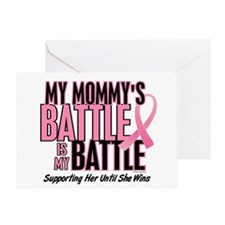 My Battle Too 1 (Mommy BC) Greeting Card
