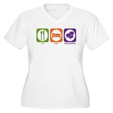 Eat Sleep Interpretation T-Shirt