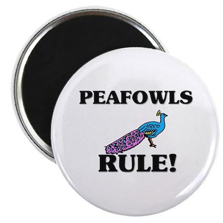 Peafowls Rule! Magnet