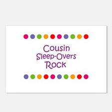 Cousin Sleep-Overs Rock Postcards (Package of 8)