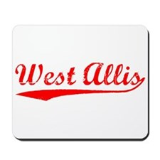 Vintage West Allis (Red) Mousepad
