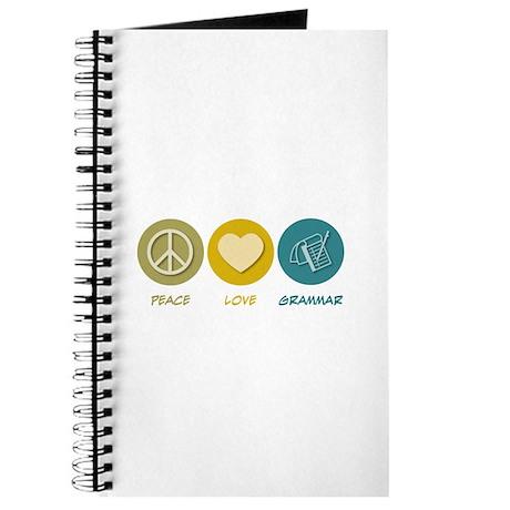 Peace Love Grammar Journal