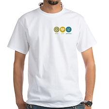 Peace Love Grammar Shirt