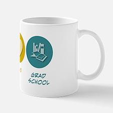 Peace Love Grad School Mug