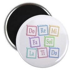 """Solfege Baby Blocks 2.25"""" Magnet (10 pack)"""